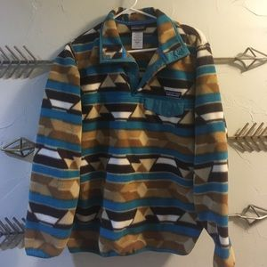 Patagonia women's synchilla snap-t pullover medium