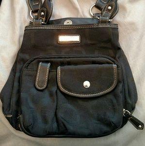 Black Rosetti satchel