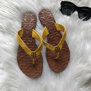 Tory Burch Mustard Sandals