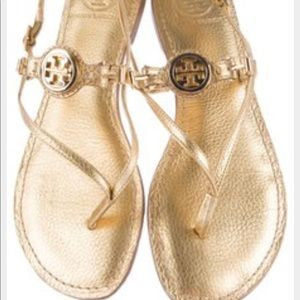 Tory Burch Gold Sandals - *RARE*