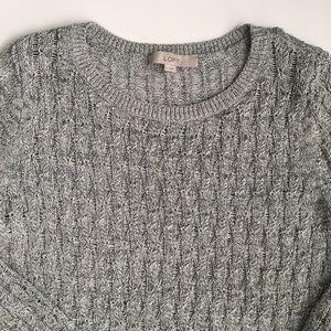LOFT Knit Sweater, size large