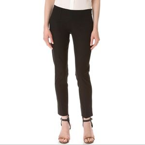 Theory Belissa Sevona Stretchy Wool Black Pants