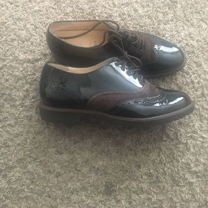 HASSIA Black and Brown Loafers