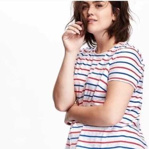 Old Navy Striped Trapeze Shirt