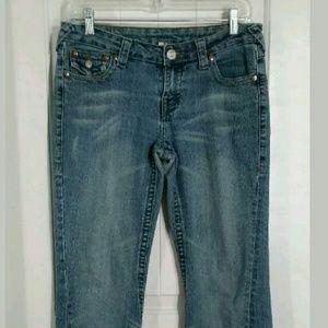 True Religion Womens Blue Jeans Sz 29