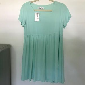 Mint Babydoll Dress from American Apparel xs/s