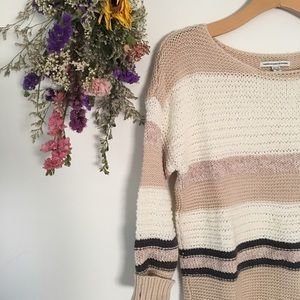 Gorgeous Neutral Knit Sweater