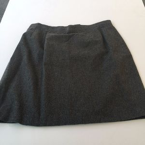 Leslie Fay Gray Pencil Skirt SIZE 30