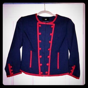 H&M Military Style Blazer