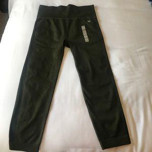 Forever 21 Olive Capri leggings