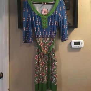 "Juicy Couture ""Squash Jackie Print"" Dress"