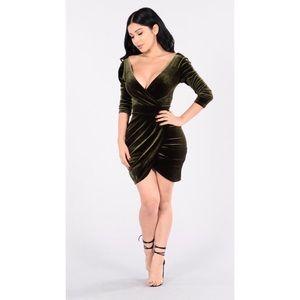 fashion nova - velvet dress