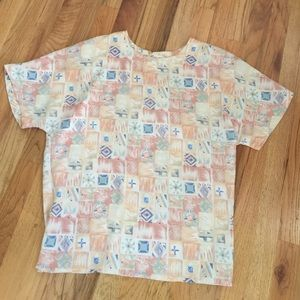 Vintage top- with shoulder pads!!
