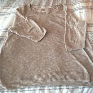 Comfy everyday cotton sweater. 1X