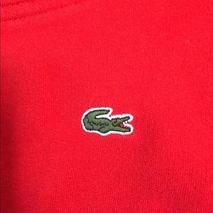 Women's Lacoste sweater/ sweat shirt
