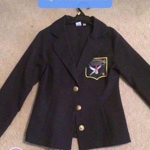 Halloween costume school girl jacket