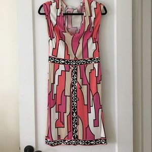 Emilio Pucci abstract printed dress