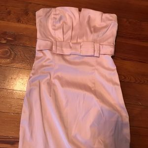 Soft Pink Forever 21 mini strapless dress. Sz Sm
