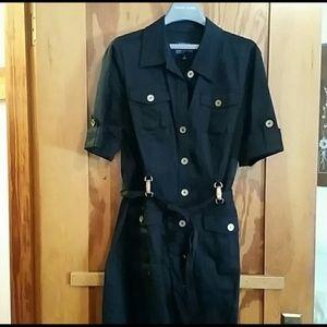 Classic Black shirt dress, jones New York,