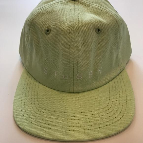 199619de5e4 NEW STUSSY X URBAN OUTFITTERS MINT BASEBALL HAT. M 59ca66ab36d594eb9e0bd25d