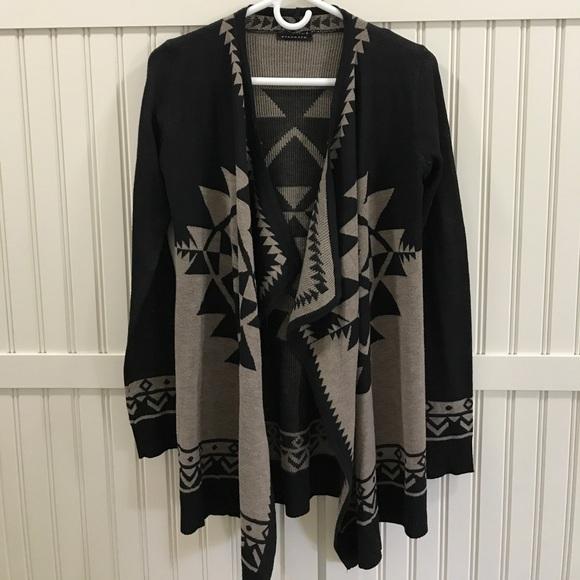 staccato Sweaters - Women's Aztec Print Cardigan