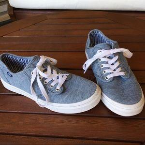 Vans Sneakers Blue Gray Camden Stripe
