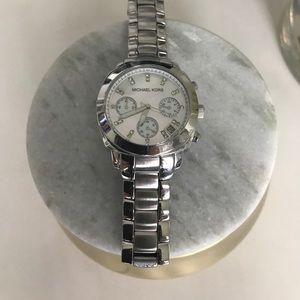 Michael Kors Pave Diamond Watch