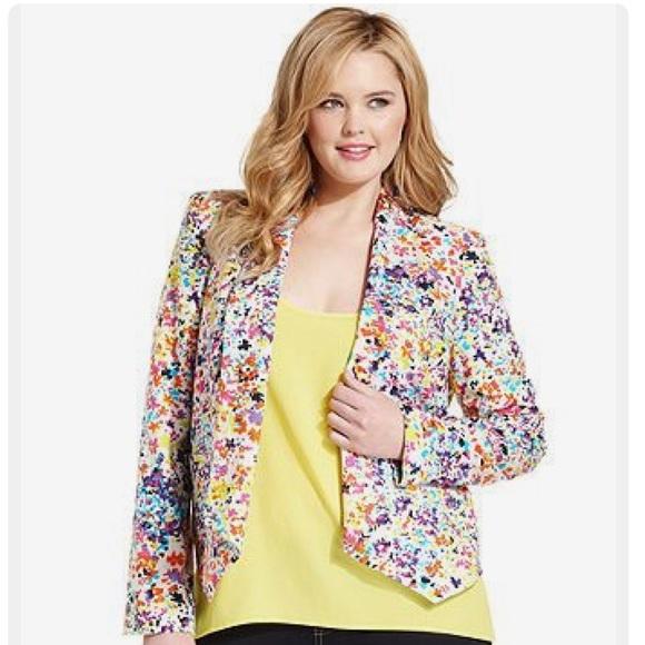 d76a5d3fd0739 Jessica Simpson Jackets & Coats | Draped Blazer Plus Size 2x | Poshmark