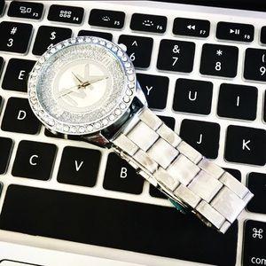 Michael Kors MK Silver Watch Women Designer