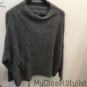 Eileen Fisher Alpaca $298 Tunic Top Sweater OS XL
