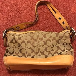 Coach small over-the-shoulder purse