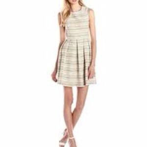 Shoshanna Bridget Prism Tweed Fit & Flare Dress