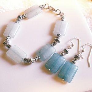 Jewelry - HANDCRAFTED EARINGS &BRACELET SET