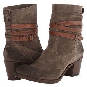 """Frye """"Jane Strappy Short"""" boot"""