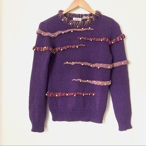 😎 Cool Vintage Dimensional Sweater