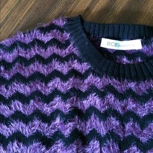 Women's fuzzy  sweater top