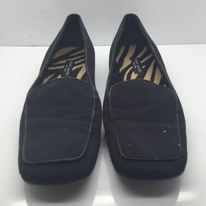 KATE SPADE Nice Black Preowned Loafer Italy 6M