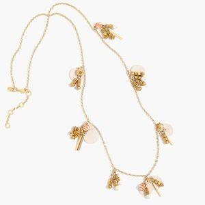 J. Crew Dangling Paillette Necklace