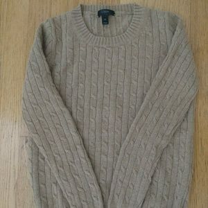J. Crew Cable knit Sweater