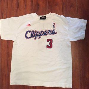 NBA adidas LA Clippers youth t shirt