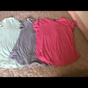 Lot of three Vince scoop neck tops