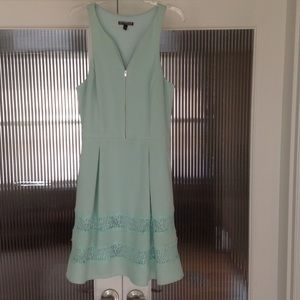 Express Mint Green Dress