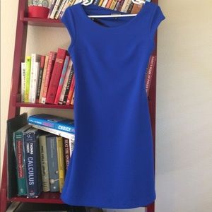 NWWT Beautiful Blue Cap Sleeve Dress