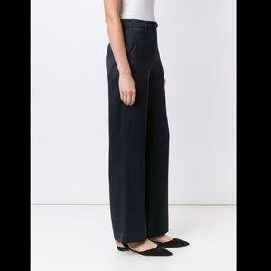 HELMUT LANG - high waisted wide leg pants