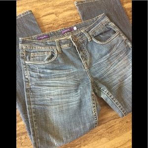 VIGOSS DISTRESSED STYLE NEW YORK BOOT JEANS SIZE 9