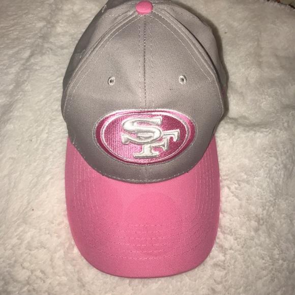 San Francisco 49ers breast cancer awareness hat. M 59ca8d1ba88e7d6ea90c8d2e ea669f71c