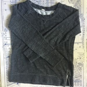 J. Crew Pullover with Side Zip Detail