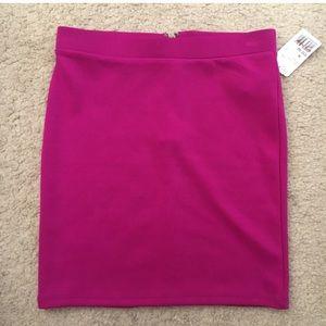 Forever 21 skirt hot pink
