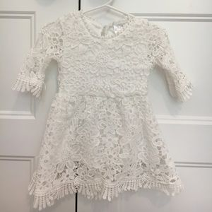 Other - NEW White Lace Dress
