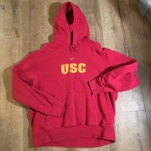 Nike Shirts - USC 🏈 Nike hoodie sweatshirt stitched ff476cd91
